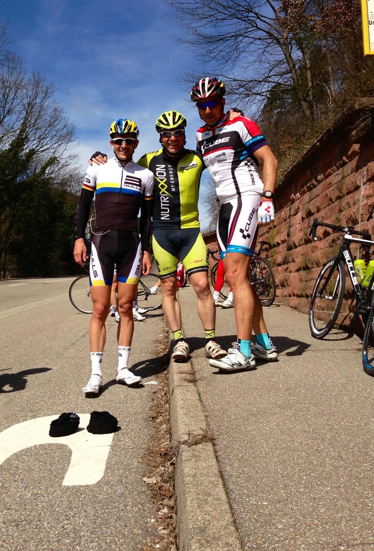 250 Kilometer durch den Odenwald mit Karl Platt und Lothar Leder