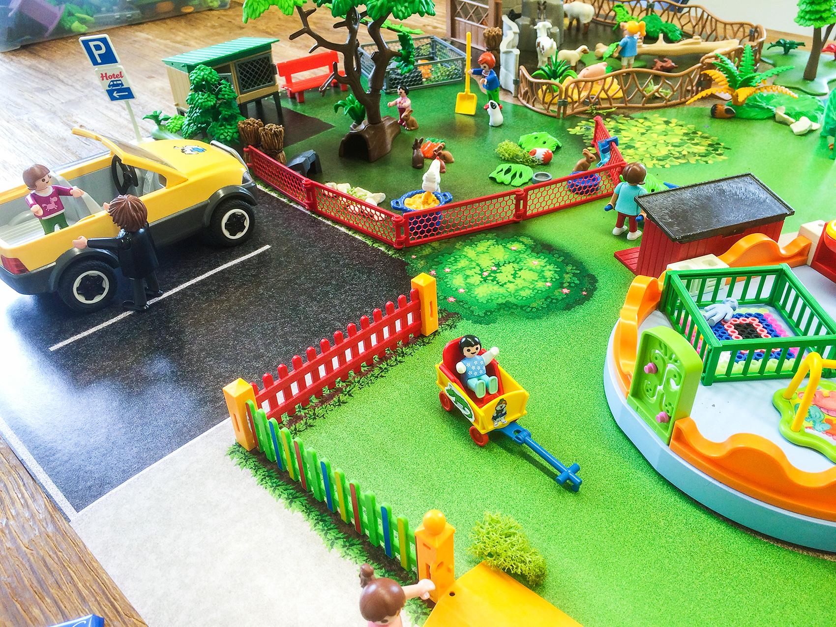Spiel Matte Spielteppich Für Kinder Spiel Mattech