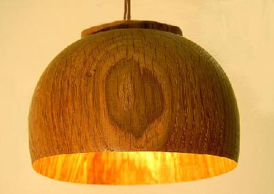 Lampenschirm aus Eiche