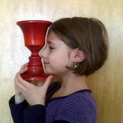 Sophie  Conturette rot gebeizt