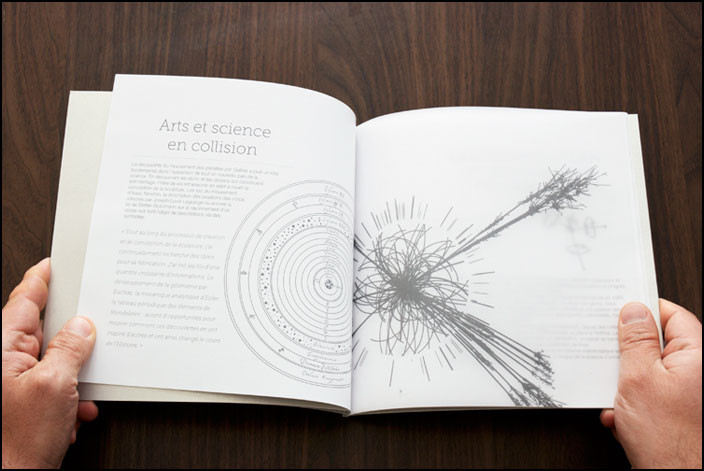 ART & SCIENCE – Traduction d'un livret pour le CERN