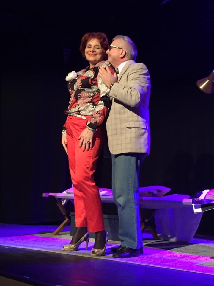 Gardénia (Catherine Favier) et Philippe Ledoux (Serge Gelly)