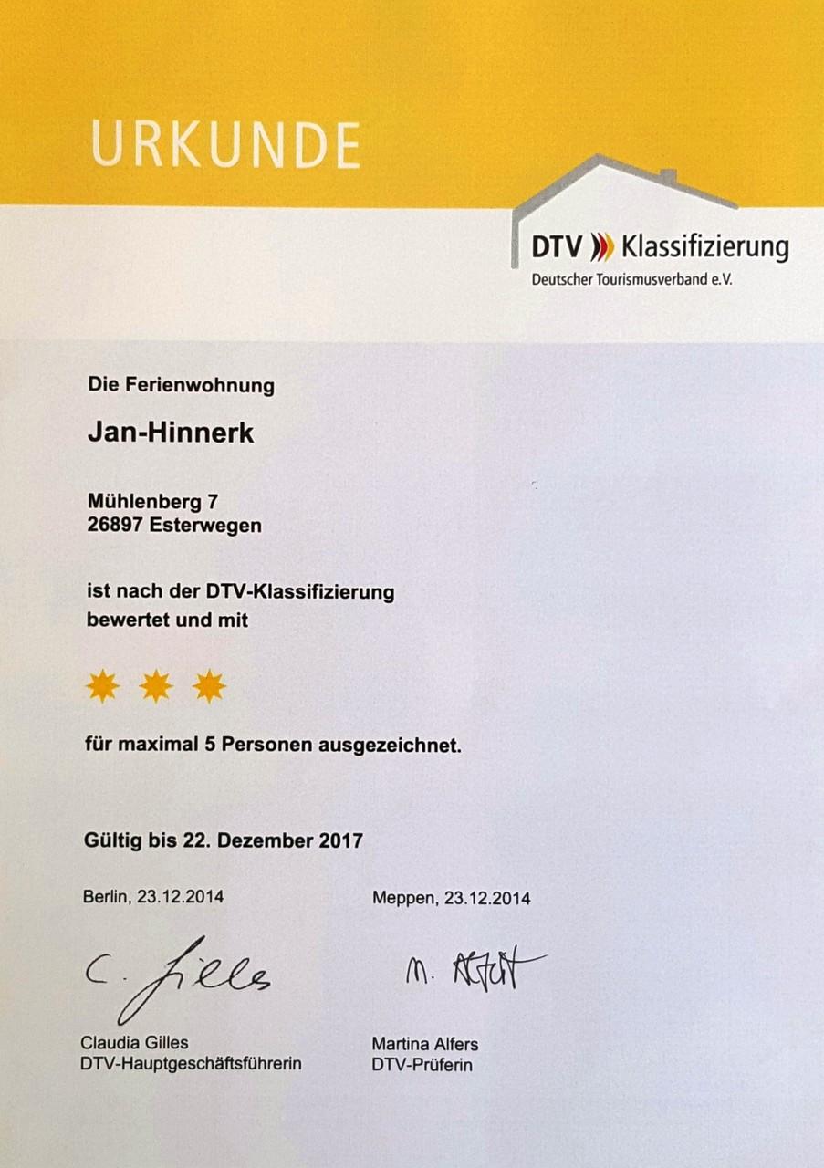 Auszeichnung des DTV