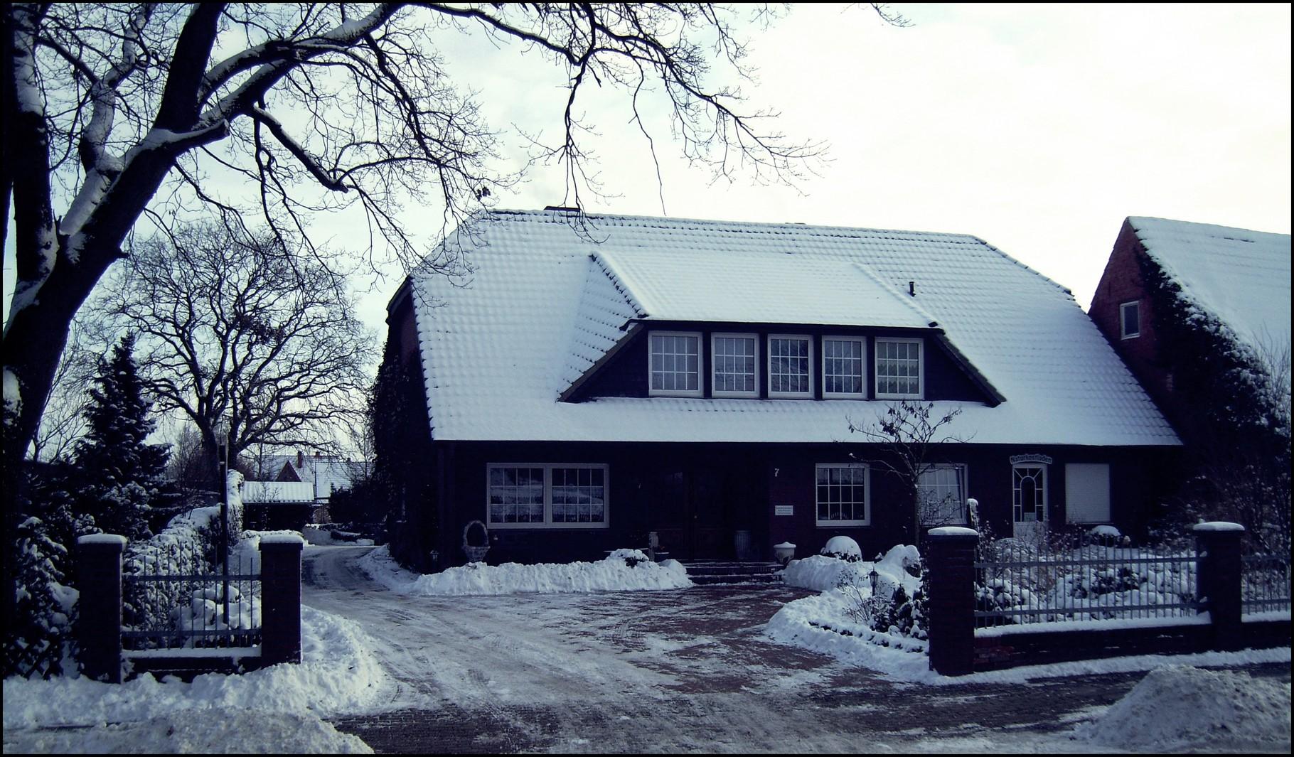 Winter im Emsland