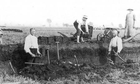 im Hiller Moor in den 1930er Jahren