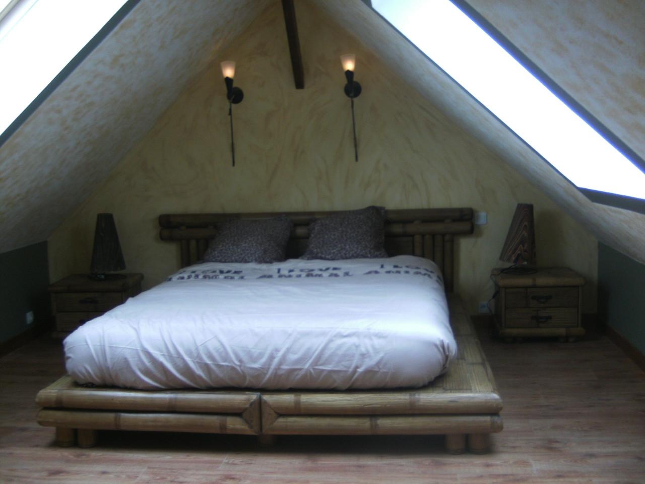 La chambre bambou site de echappeesarthoise for Site de chambre