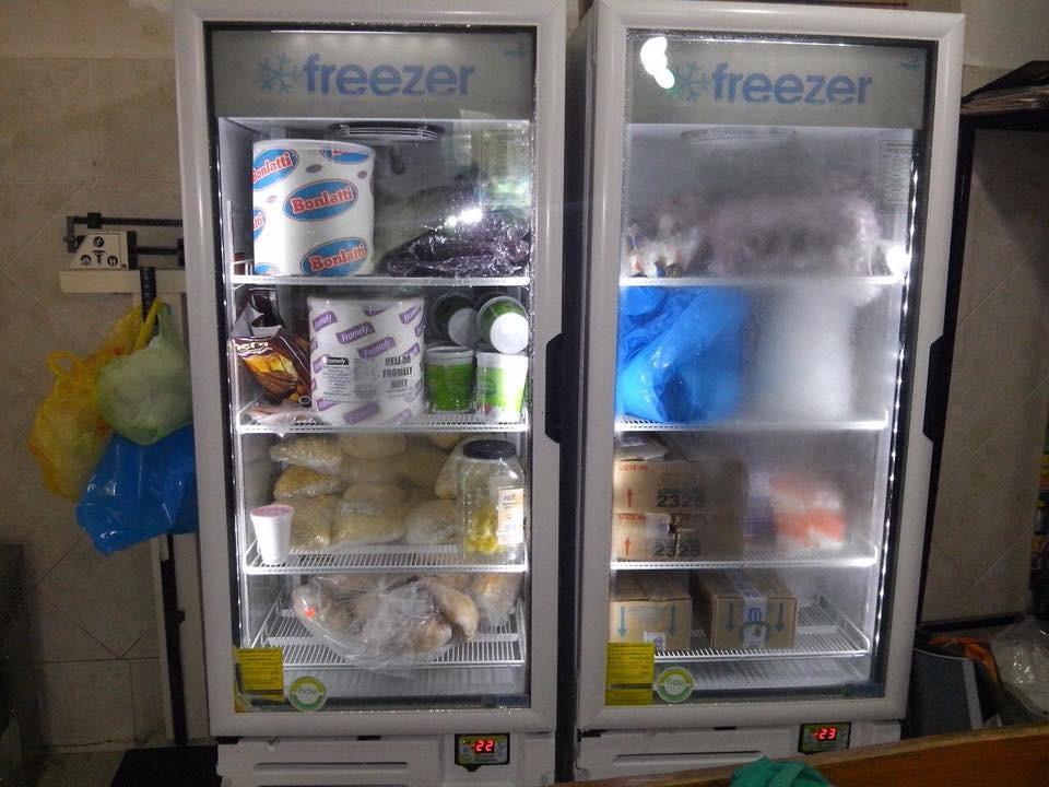 congelador vertical de 16 y 24 pies
