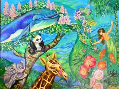 地球の仲間 美術家 立花雪 YukiTachibana