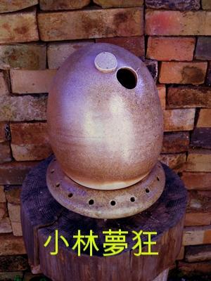 小林夢狂 MukyoKobayashi 卵のオブジェ