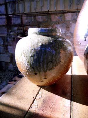 持田 博さんは大壷の一本引きを得意としています。
