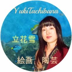立花雪 YukiTachibana  絵画:陶芸:美術家