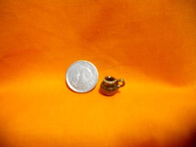 最小1g1円玉より小さい子壷  炎と楽園のアート