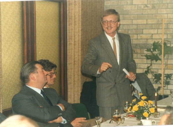 K. H. Gose und die Ansprache