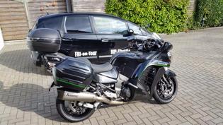 16.) Kawasaki GTR 1400