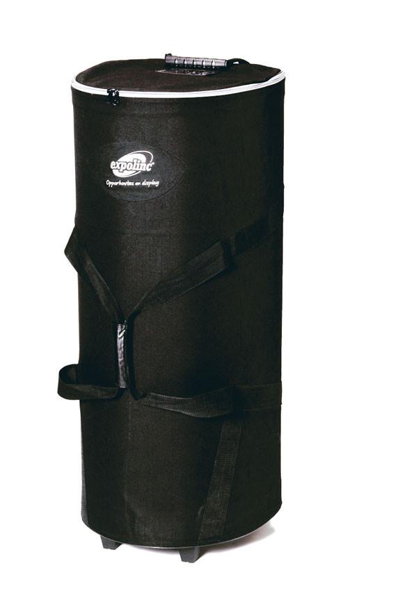 Transporttasche mit Rollen für einen einfachen und bequemen Transport.