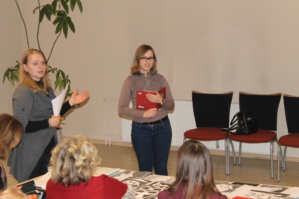 Gina Meškauskienė pristatė edukacinių kelionių Jurbarko rajone galimybes.
