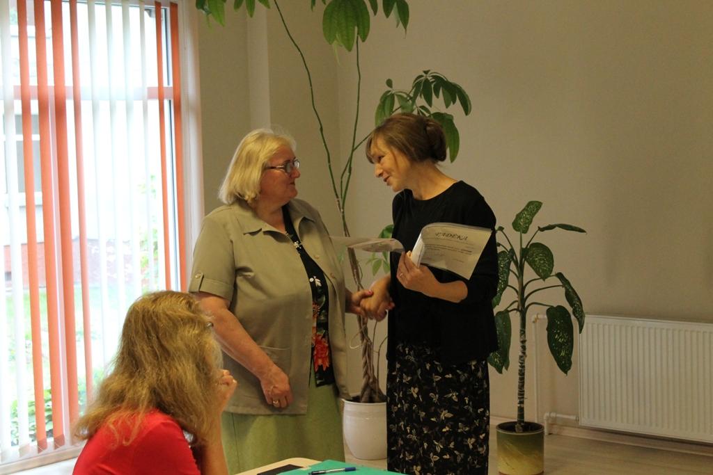 Kuratorė Zita Tytmonienė padėkojo metodinio būrelio tarybos narėms už darbą.