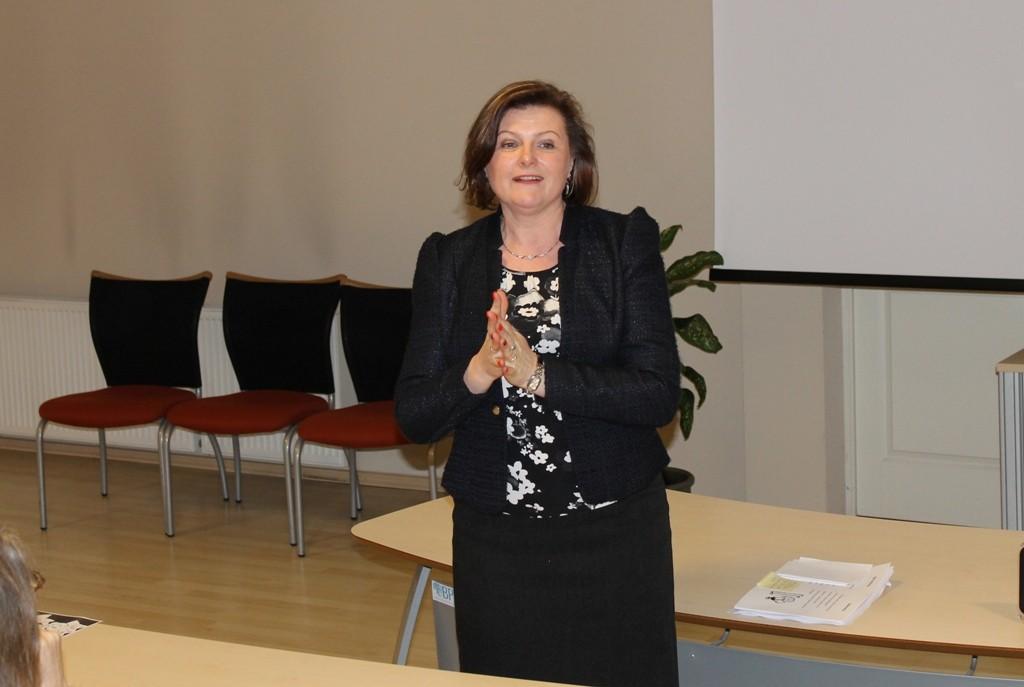 """Jurbarko Vytauto Didžiojo pagr. mokyklos mokytoja Ingrida Naujokaitienė. """"Įsivertinimas pamokoje"""""""