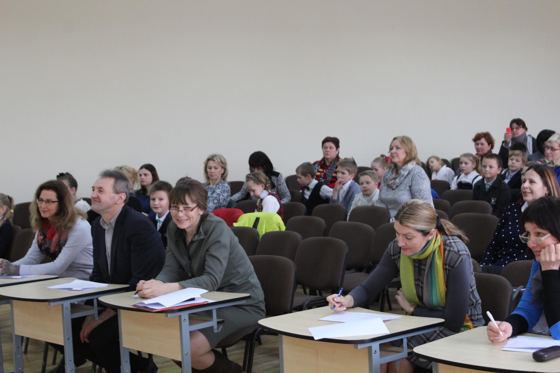 """Jurbarko rajono meninio skaitymo konkursas""""Vaikystės karuselė"""" 16-03-16"""