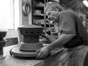Handwerkliche Herstellung Lüfter Aufsatz