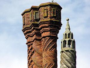 Historischer Schornsteinkopf