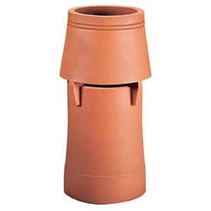 Keramik Aufsatz Nebenluft Beimischung Zugverbesserung Zugstabiliesierung