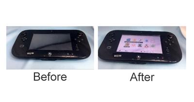 WiiUgamepadの修理