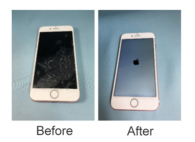 iphone7画面割れ 修理