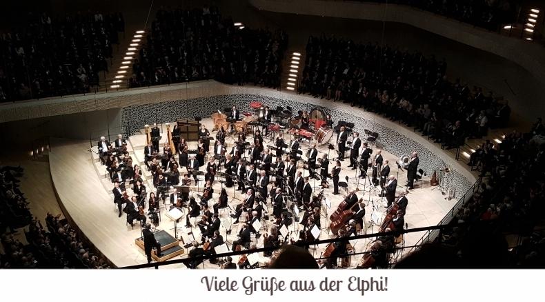 Chicago Symphony Orchestra dirigiert von Riccardo Muti in der Elbphilharmonie in Hamburg am 14. Januar 2017