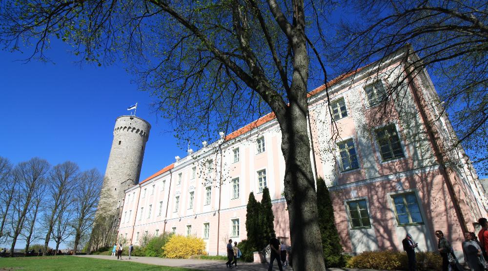 Das Schloss, Sitz der estnischen Regierung