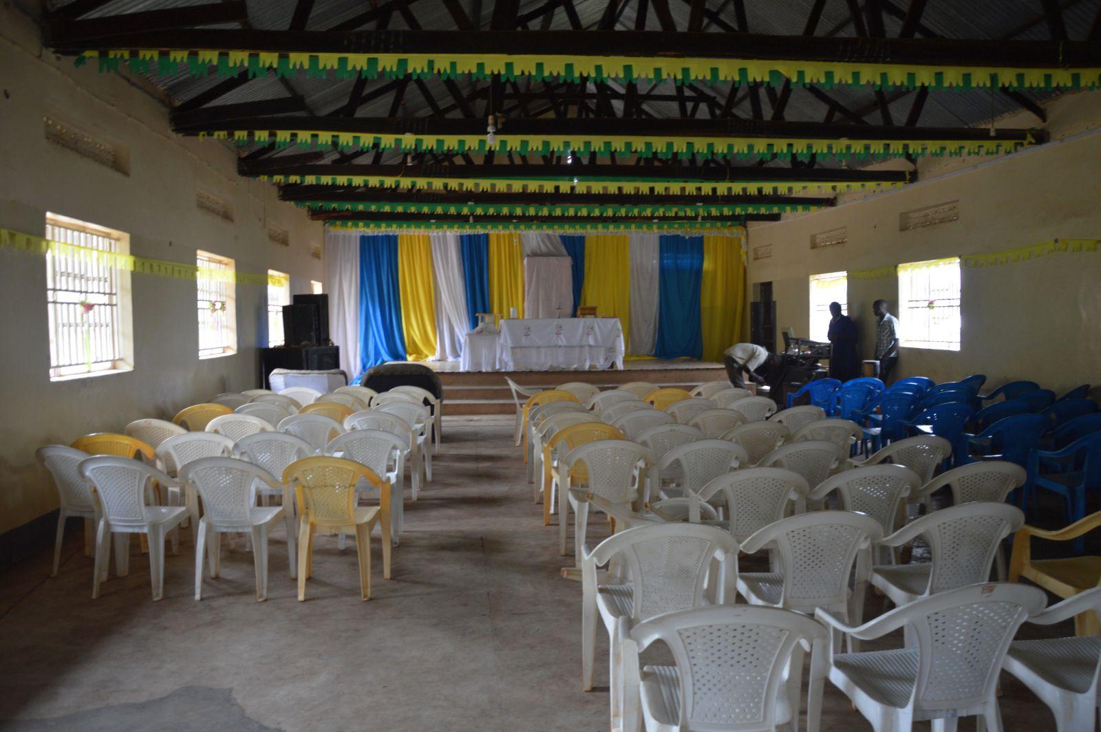 Vorbereitung zum Elterntag in Bwanda