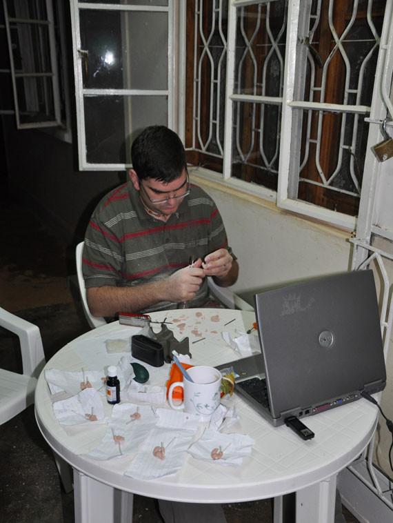 ...nach etlichen Stromausfällen und mit selbst gefertigten Ohrpassstücken...