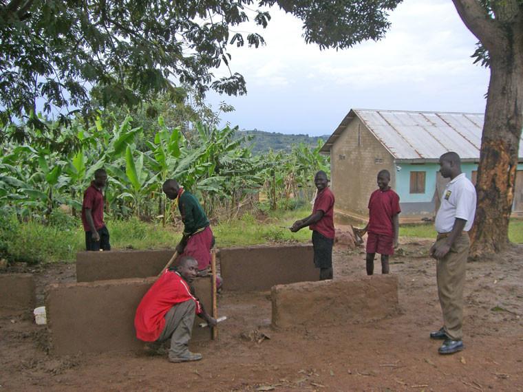 In der Primary 6 (6. Klasse) wird ein Bau-Workshop durchgeführt.
