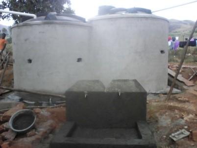Neuer Wasseranschluss