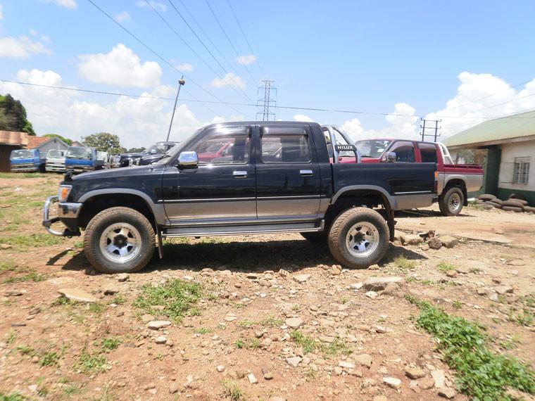 ...drücken den Verkaufspreis eines Geländewagens mit etwas Verhandlungsgeschick herunter...