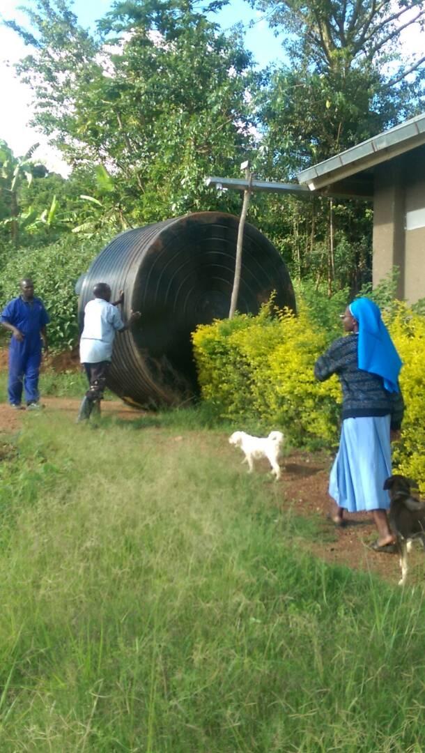 Neuer Wassertank