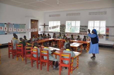 Neuer Klassenraum