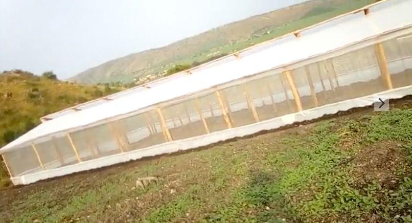 Gewächshaus für die Berufsschule in Isingiro