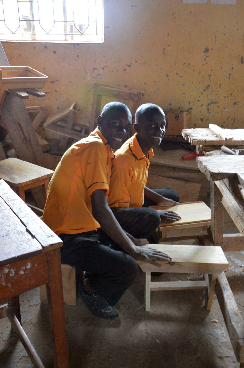 Azubis in Bwanda