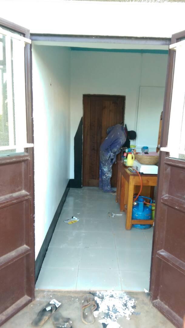 Das Zimmer der Freiwilligen