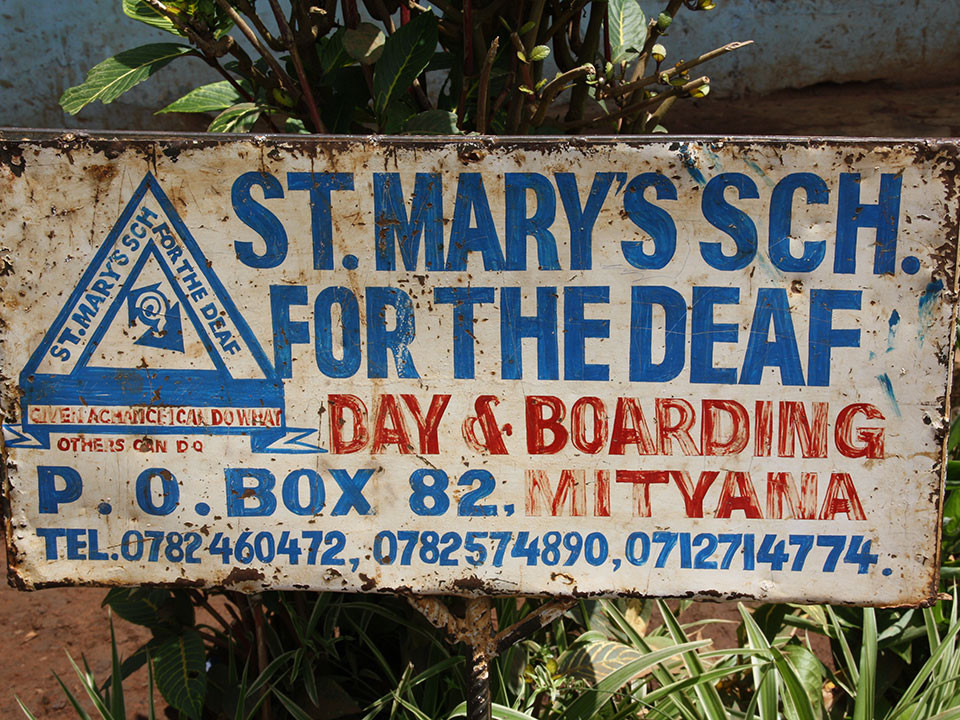 ...St. Mary's School for the Deaf.