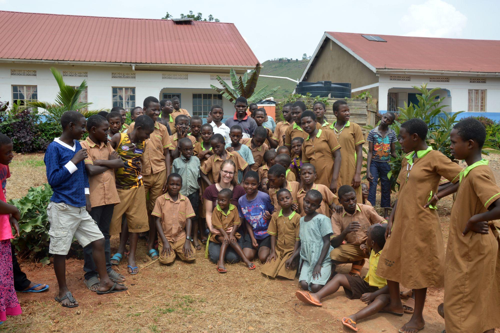 Gruppenfoto in Ntungamo