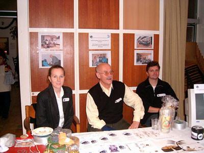 Von links nach rechts: Tanja Jürß, Gerhard Ehrenreich, Burkhard Lohmann