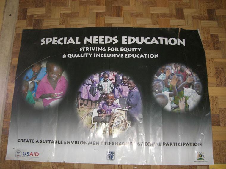 Ein kleiner Luxus für die momentan 60 Kinder, wovon 46 gehörlos und 14 anderwertig behindert sind, denn...