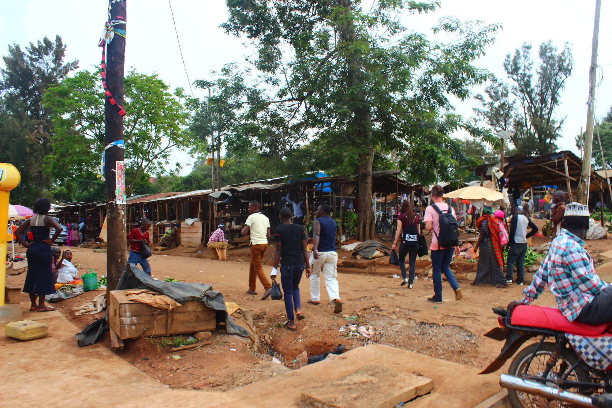 Marktplatz in Masaka