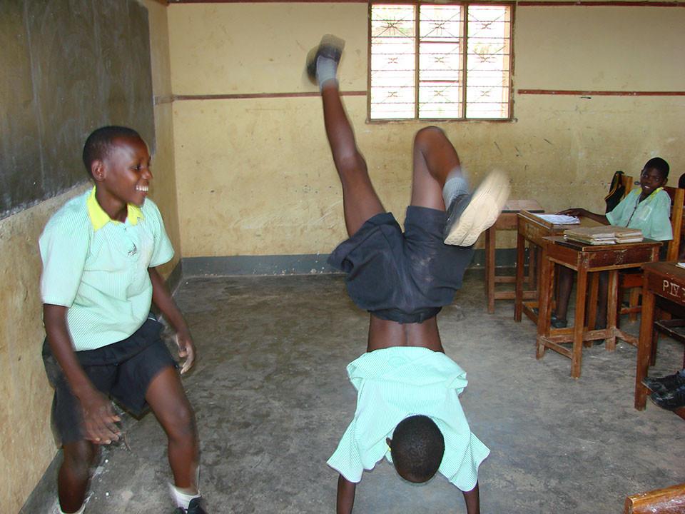Sportunterricht...?