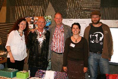 Das Projektteam in Nürnberg (von links nach rechts: Katina Geißler, Gerhard Ehrenreich, Manfred Becker, Anne Baumann, Andreas Heindel)