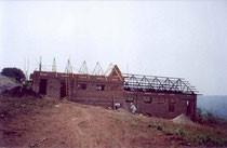 Neubau des Jungen-Schlafgebäudes