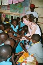 Tanja Berlin mit Kindern