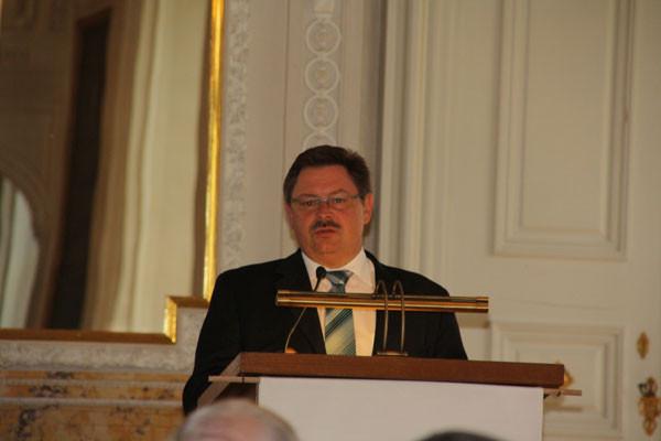 Der bayerische Innenstaatssekretär Gerhard Eck